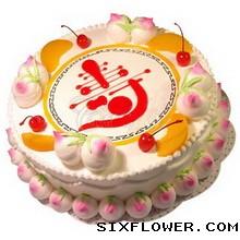 水果奶油蛋糕/祝寿上海妮成鲜花店