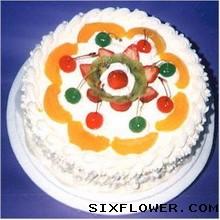奇葩鲜花生日蛋糕/想你