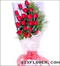 19支红玫瑰/有你就好重庆满园香花坊