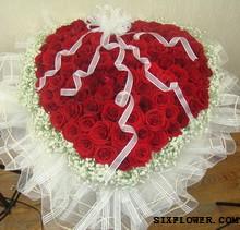 东莞厚街情有独钟花坊99支红玫瑰/爱的火花