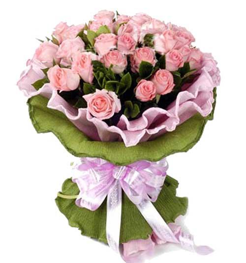 29支粉玫瑰/爱的诗章瑞安花落你家鲜花店