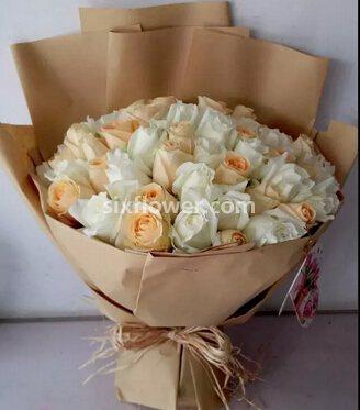 婷婷鲜花店献给至爱的你/33支玫瑰