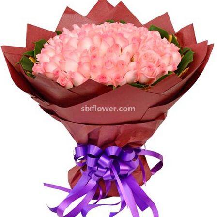 桐庐花蜜鲜花108支玫瑰/嫁给我吧
