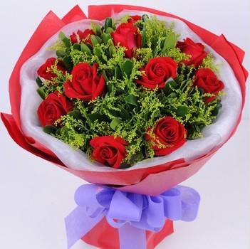 西青区花锦坊两个人的世界/11支红玫瑰