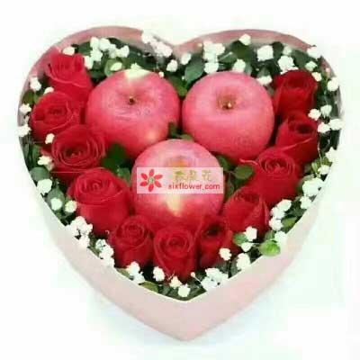 花花世界幸福彼岸/平安夜苹果礼盒