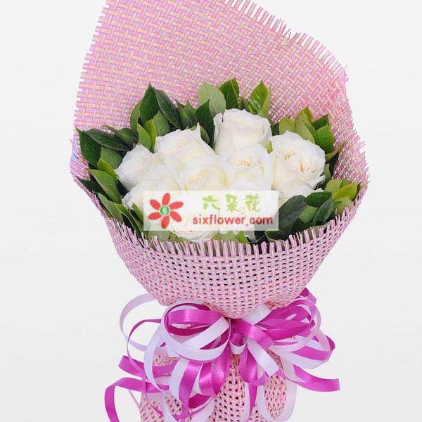 9支玫瑰/心意上海花姑子