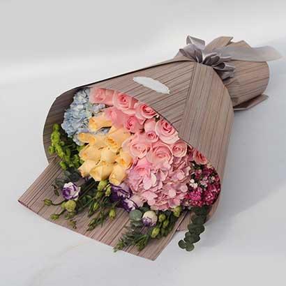 24支玫瑰/气质佳人幸福花艺