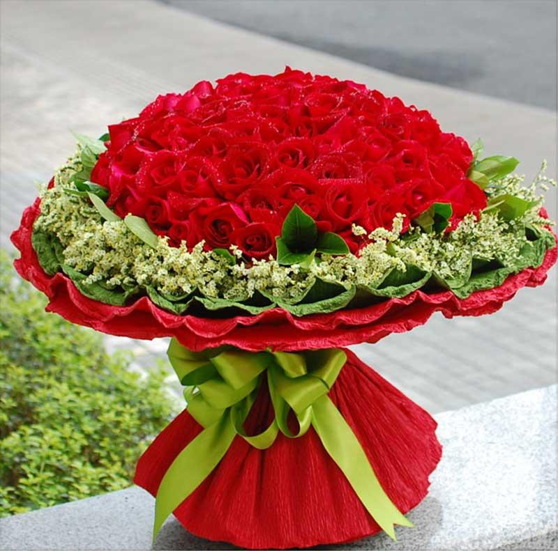 灵溪镇爱尚花屋99支红玫瑰/美好的日子