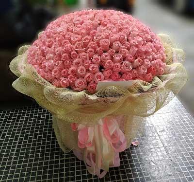北京温馨花艺鲜花店天天想著你/365支玫瑰