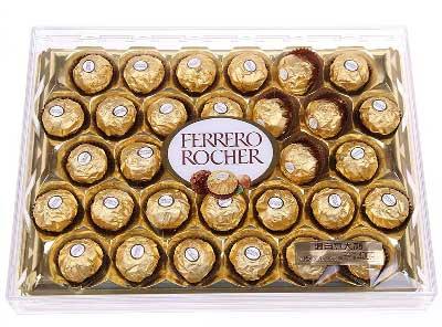 情缘鲜花速递费列罗巧克力/这是我的真心