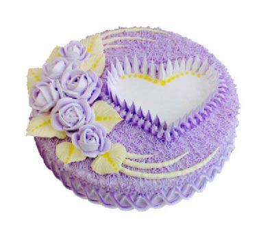 8寸蛋糕/心里想着你上海兰兰花店