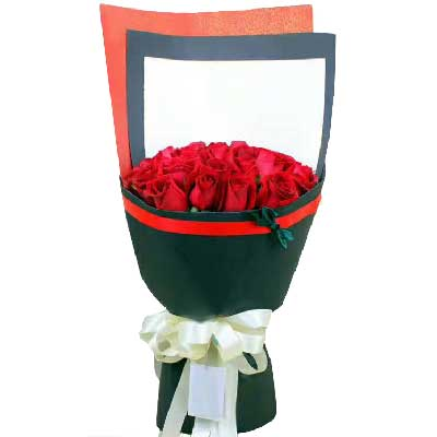 深圳花满楼龙华龙岗店一如既往对你好/33支红色玫瑰