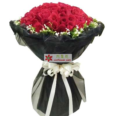 上海常青藤花店永远不变的牵挂/51支红色玫瑰