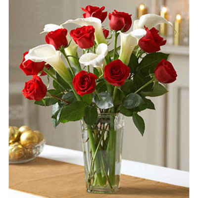 爱你每分每秒/11支红色玫瑰木子花坊