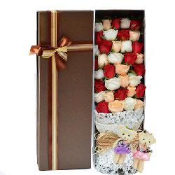世无双的爱情/33枝玫瑰礼盒