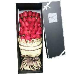 有爱才有滋味/33枝红色玫瑰