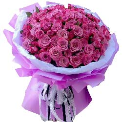 用尽一生爱你/99枝紫色玫瑰