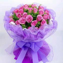 时刻在想你/29枝紫色玫瑰