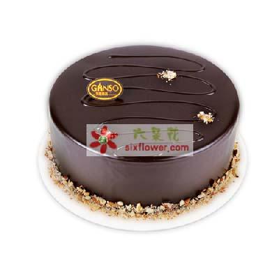 元祖8寸圆形蛋糕/与你携手到老十里桃花花坊