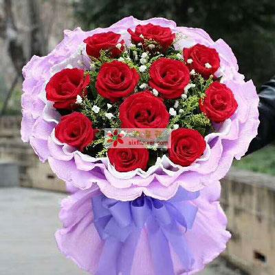 一辈子的幸福/11支红色玫瑰五津北路麦香园