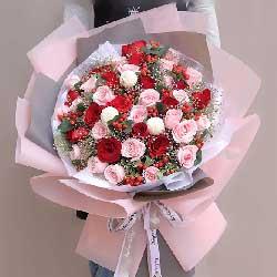 幸福相守/33枝玫瑰