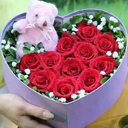 全部的爱/11枝玫瑰礼盒