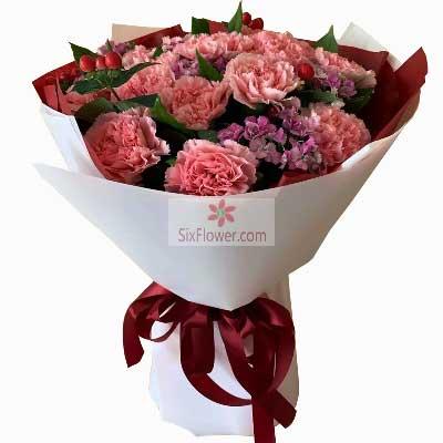 26朵郁金香,你是我今生的唯一大连香朵花艺