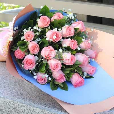 20朵戴安娜玫瑰,陪伴到永远杭州珊珊花店