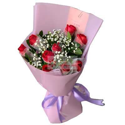 9支红玫瑰,特别的爱兰亭花絮