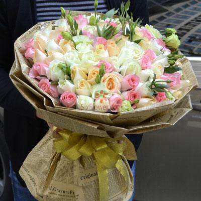 33朵玫瑰,顾影问君安南京美嘉花卉