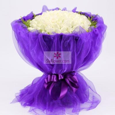 39朵白玫瑰,你是我的最爱南京市江宁区云之南花店