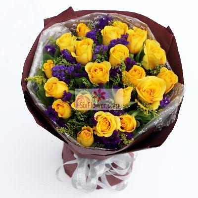 21朵黄玫瑰,再给我一次机会广州花开