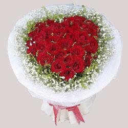 33朵红玫瑰,每一秒陪着你