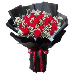 19朵红玫瑰,对你永远的爱恋