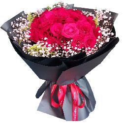 22朵红玫瑰,两个人幸福一辈子