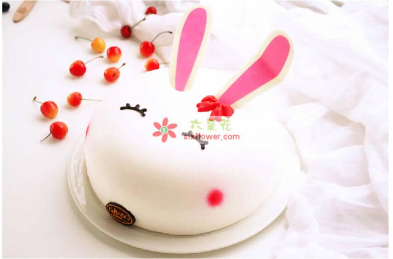 8寸元祖鲜奶蛋糕,Nice兔meetyou